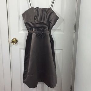 BCBG Maxazria | Sleeveless Dress | Brown